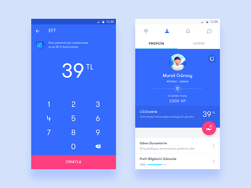 35 Fresh App Concepts Inspired By Material Design Freebie Supply