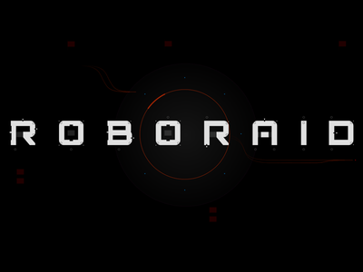 ROBORAID - main titles logo vr hololens hud ux ui fui ar