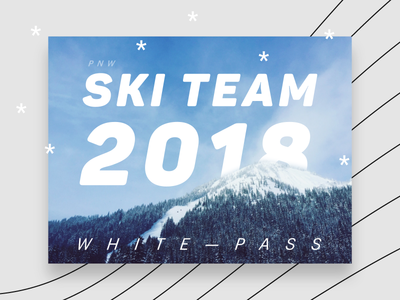 PNW Ski Team 2018