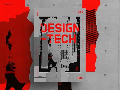Show&Go2020™ | 032 | DESIGN TECH. color type swiss adobe photoshop adobe collage poster illustration illustrator