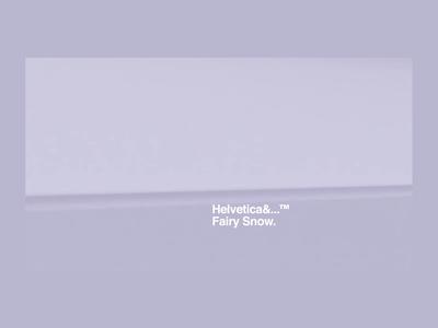 Helvetica&...™ Fairy Snow.