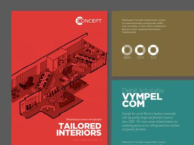 Concept.ru furniture brochure visuals brochure brochures design editorial print russian russia furniture icons serif layout grid concept