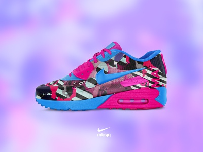 'We Can Dream' Concept   Nike vs mbsjq mbsjq concept collages gradient collage adobe nike running nikey nikeair nikeairmax nike