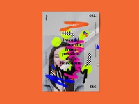 Show&Go2020™ | 052 | Passion poster art mbsjq poster a day typedesign layout abstract type adobe photoshop photoshop adobe poster
