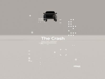 The Crash typography motion graphics tutorial animation swiss type audi crash octane cinema4d motion houdini