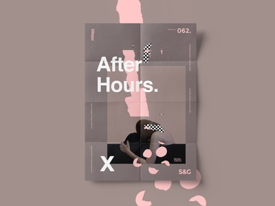 Show&Go2020™ | 062 | After Hours poster design poster a day poster art collageart collage adobe photoshop adobe poster