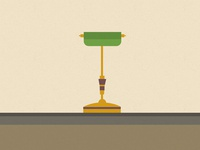 Lamp illustration
