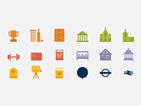 London map icons