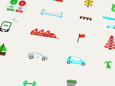 Mitsubishi Motors infographics / icons icons infograhics infographic info graphics mitsubishi clean vector illustration