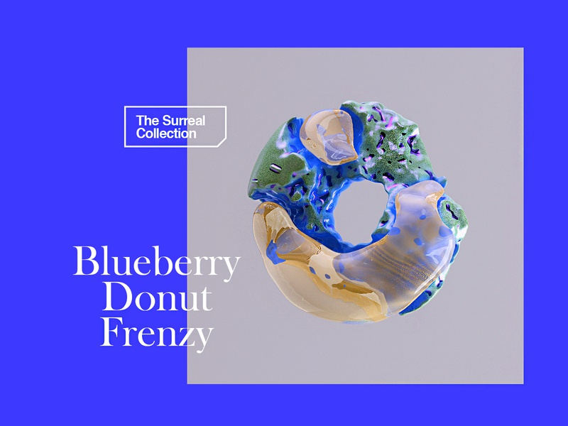 Blueberry Donut Frenzy