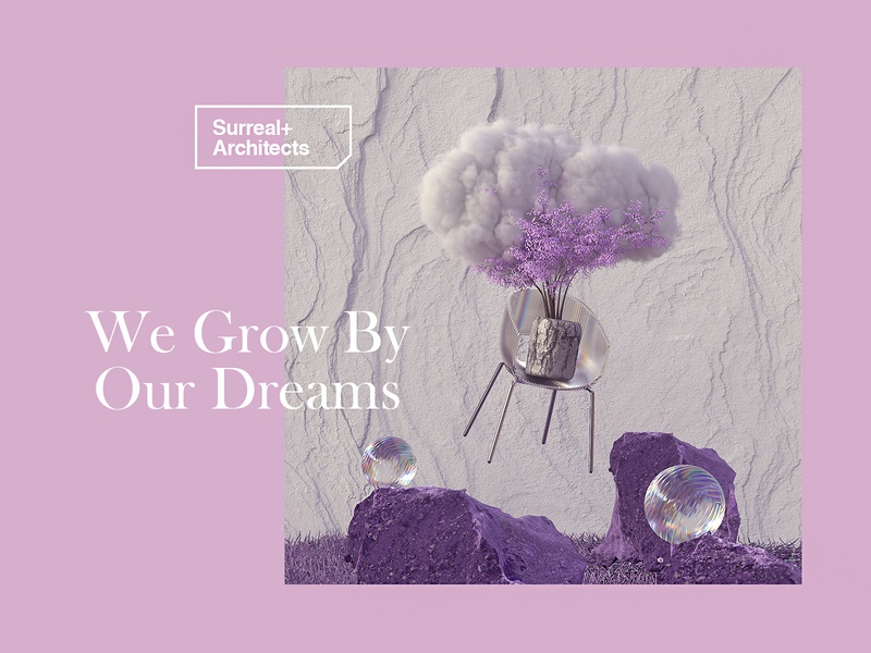 We Grow By Our Dreams surreal cinema 4d cinema4d art 3d dreams