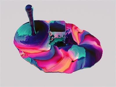 Only Found In Space. 3d animation motion design motion color gradient procedure c4d redshift 3d art