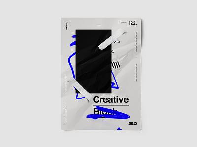 Show&Go2020™ | 122 | Creative Block creativeblock poster art type posterdesign poster