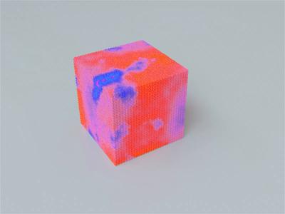 Spongey. sponge motion design motion oddlysatisfying satisfying houdini