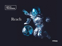 Astro & The Universe | Reach | PS5 3d animation gaming gamer spaceman scifi space playstation5 astro astronaut ps5 3d art 3d
