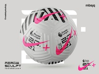 Nike Flight X MBSJQ sport pattern premier league packaging branding football logo football design football nike