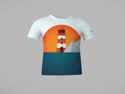 Sun Rise (T-shirt concept)