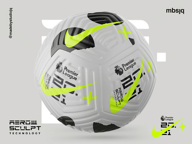 Nike Flight X MBSJQ illustration design typography color branding football club nike sport premiership football