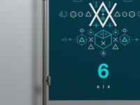 SIX // Symbols & Shapes (Blue)
