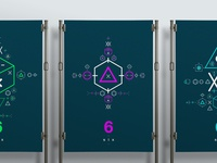 SIX // Symbols & Shapes (Purple)