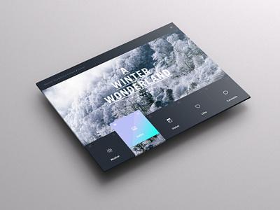 Weather Dashboard / Global Outlook (1) weather weather app pattern weather dashboard ui ux winter portal