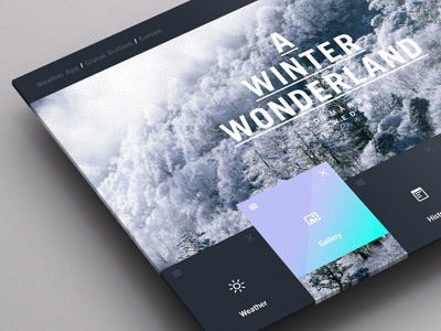 Weather Dashboard / Global Outlook (1) weather weather app pattern weather dashboard ui ux winter portal