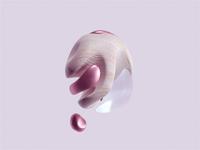 Pink Pearl 3d artist 3d art c4dart 3d relax texture realism cinema 4d motion animation c4d octane cinema4d