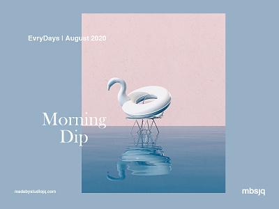Morning Dip octane octanerender art surrealism cinema 4d cinema4d