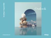 Outlook octanerender octane cinema 4d cinema4d architecture surreal 3d artist 3d art 3d