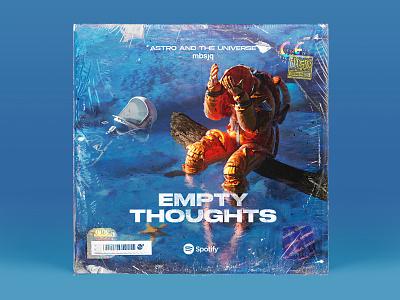 Empty Thoughts illustrator illustration astronaut art music c4dart 3d octanerender cinema 4d cinema4d c4d