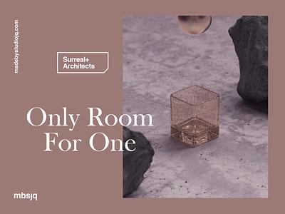 Room For One animation motion design motiongraphics motion modernart satisfying relax houdini cinema 4d cinema4d c4d 3d art design typography illustration