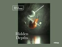 Hidden Depths astronaut mbsjq octanerender octane 3d illustration design typography art scifi space film cinema 4d cinematic cinema4d c4d astro