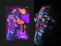 Show&Go2020™ | 201 | Mood & Swings typography design illustration poster a day collage octanerender cinema 4d cinema4d c4d adobe photoshop art poster art poster