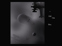 Fall Out Boy cinematic octane render octanerender interstellar astronaut album music c4dart digital art monogram c4d cinema 4d cinema4d