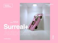 Nobody Puts Baby In The Corner. surreal pink movie dirtydancing porsche 917 porsche octane render octane cinema 4d c4d cinema4d 3d