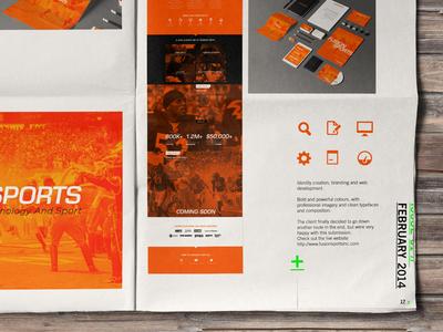 2014 // FusionSports branding (Portfolio)
