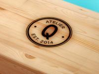AtelierQ Branding // Chosen identity