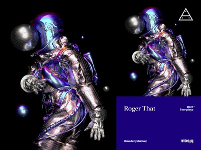 Roger That astronaut spacex space nftart superrare cryptoart astroandtheuniverse mbsjq