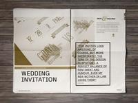 2014 Portfolio // Wedding Infographics