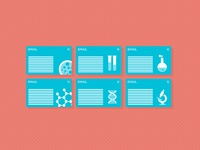 Science lab infographic / icons [3]