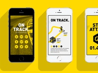 Motorsport project // App design