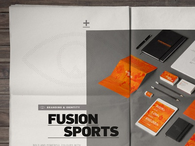 2014 Portfolio // FusionSports layout
