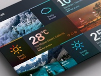 Weather Dashboard // Block layout 2