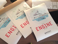 BOOM! Engine Room Posters...