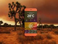 Dashboard iphone desert