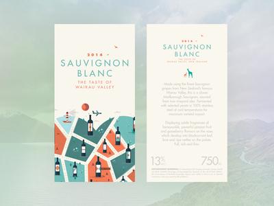 For the love of wine // Sauvignon Blanc logo label map cityscape vintage texture illustrator wine animals illustration poster city