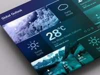 Weather Dashboard // Duotone