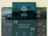 EVER WONDER™ // Web layout