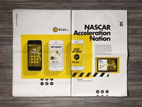 Branding // NASCAR layout