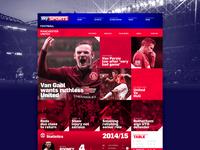 Sky Sports // UI Concept